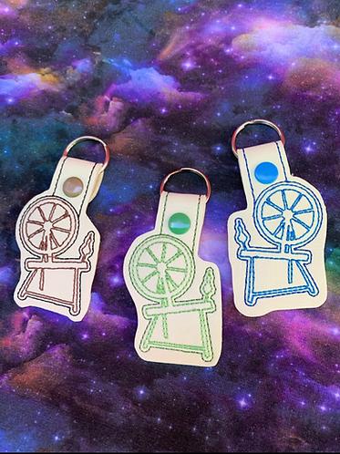 Spinning wheel keyfob