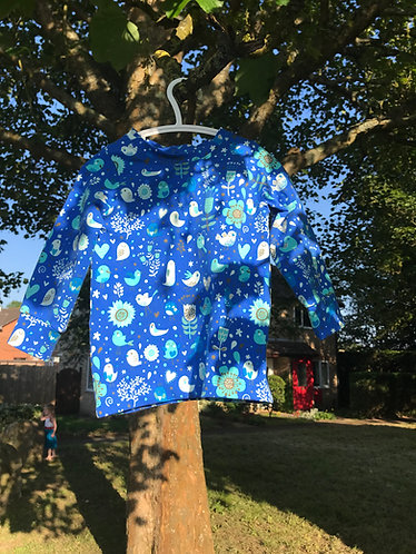 Stardust shirt: Birds 2-3 years