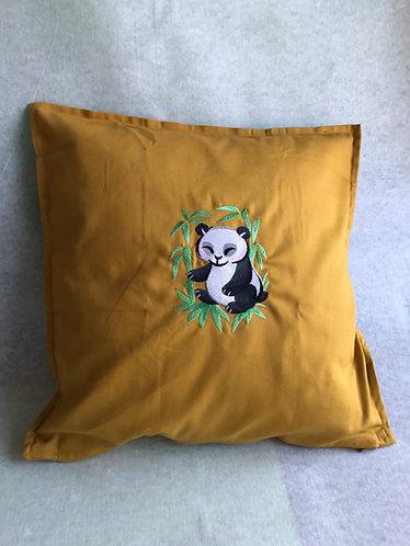 Watercolour Panda Cushion