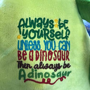 Be a Dinosaur