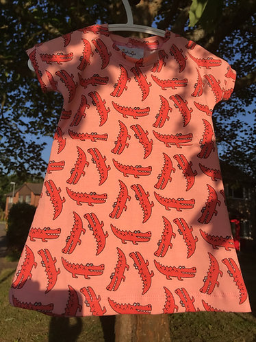 Magnolia dress: Crocs 6m