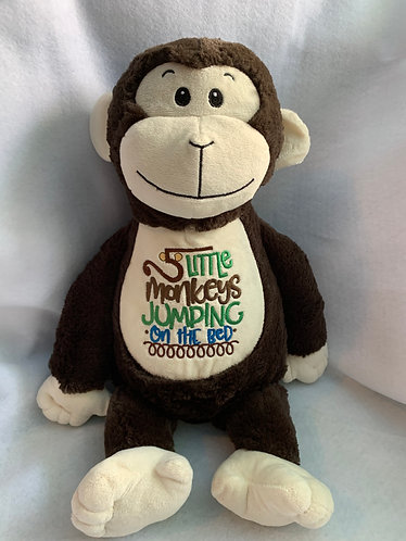 Boo- personalised monkey