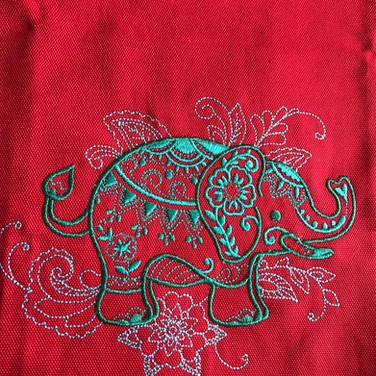 Mehndi Elephant 2