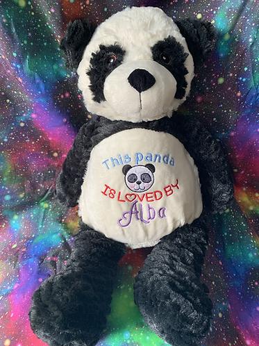 Poppy- personalised panda