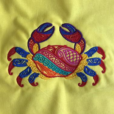 Mehndi Crab