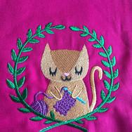 Kitten Crocheting