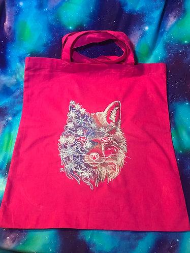 Snowy Fox shopper