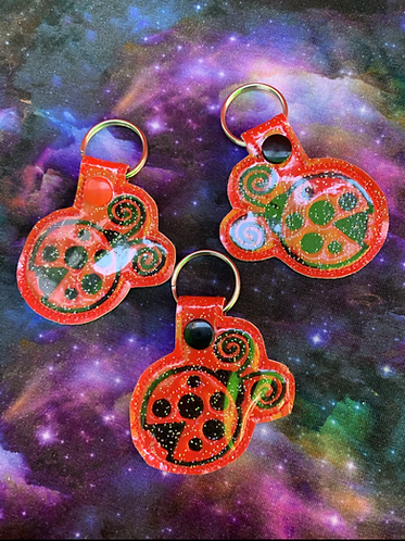 Ladybug keyfob