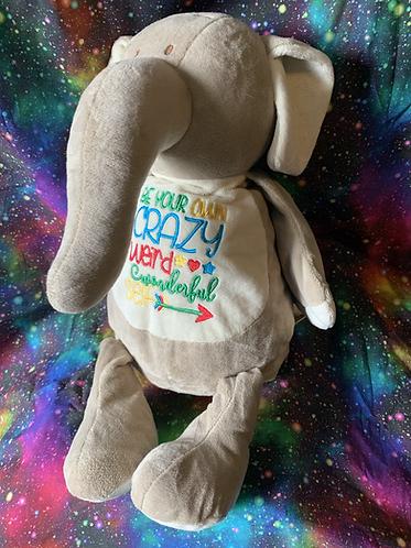 Emily - personalised elephant