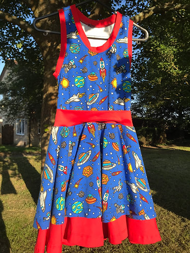 Artemis dress: Space 8 years