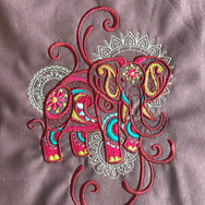 Mehndi Elephant 1