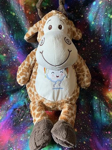 Jeffrey- personalised giraffe