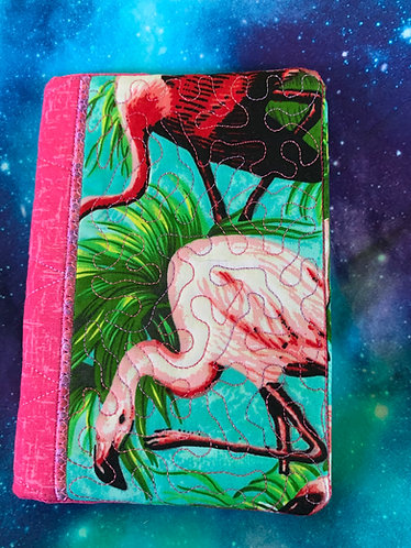 Flamingos with pink