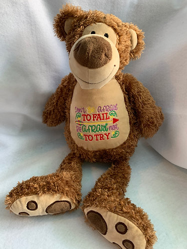 Baxter- personalised bear