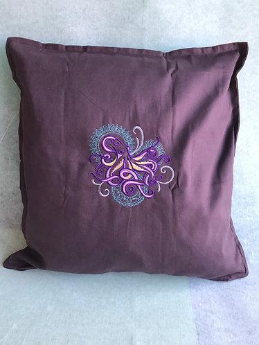 Mehndi Octopus Cushion