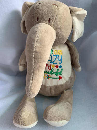 Emily - personalised elephant