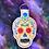 Thumbnail: Sugar skull keyfob