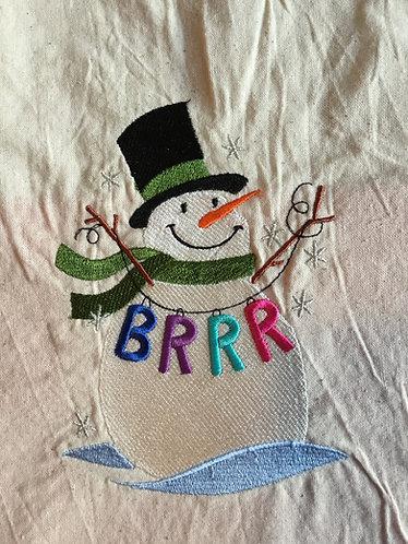 Brrr! Snowman shopper
