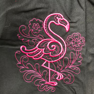 Doodle Flamingo