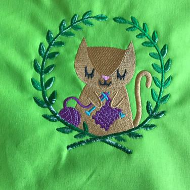 Kitten Knitting