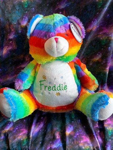Enfys - personalised teddy