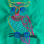 Mehndi Owl