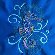 Mehndi Seahorse