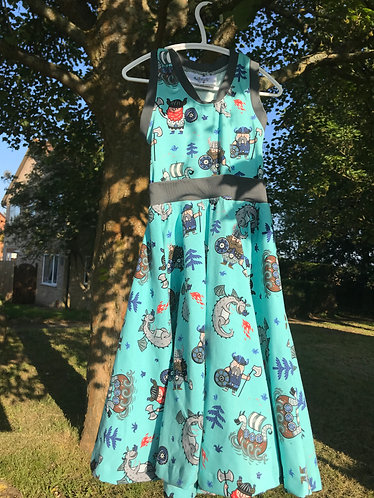 Artemis dress  LARGE ( 4 years - 12 years)