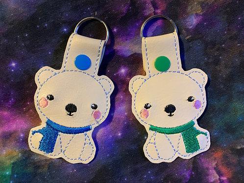 Polar Bear keyfob