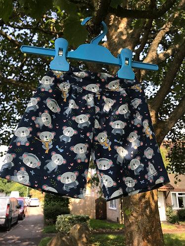 Tupelo shorts: Koalas 12m