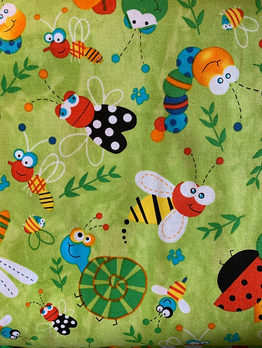 Bugs Cotton Fabric