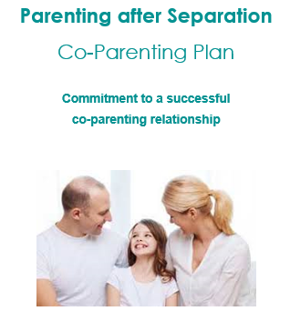 Pre-Populated Co-Parenting Plan