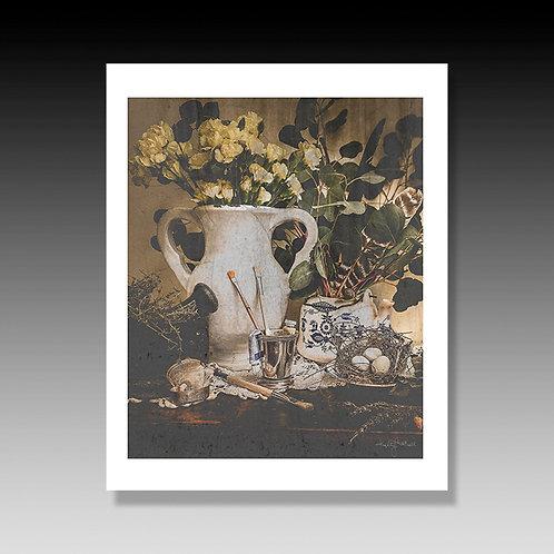Victorian Roses, Vintage Photography, Artist Brushes, Vintage Flower Prints, Yel