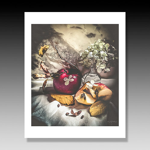 8X10 Print: Still Life, Autumn Apple