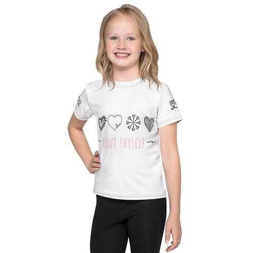 "Girls ""LOVE THYSELF"" T-Shirt"