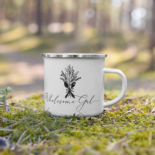 Garden Enamel Mug