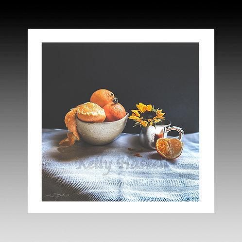 Clementines & Sunflower