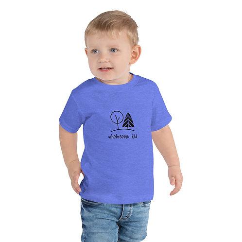 wholesome kid Boy/Girl Toddler Short Sleeve Tee