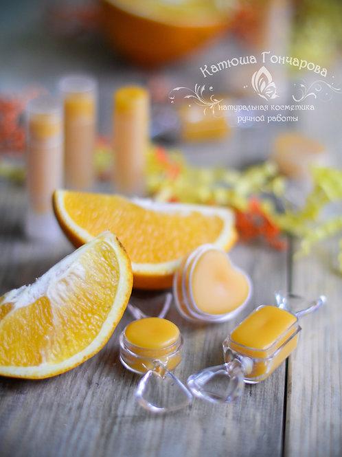 """""""Сочный апельсин"""" бальзам для губ"""