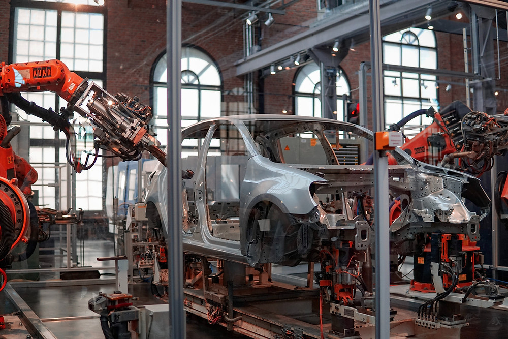 Robot in automotive manufacturing