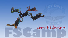 Formation Skydive Camp com Pedrosan