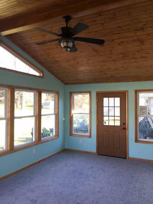 Home Addition Interior