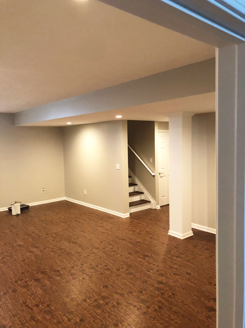 Newly Installed Basement