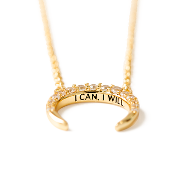 I can, I will.