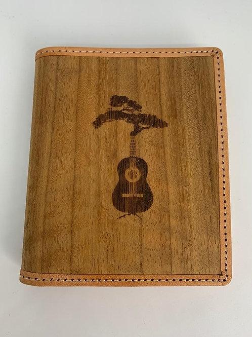 Duane Forrest Custom Wood & Leather Wallet