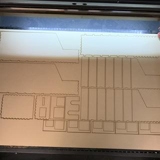 Laser cut drawer