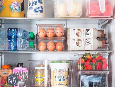 Rethinking the refrigerator. How to create an organized and optimal refrigerator experience.