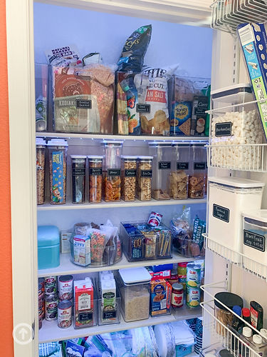 Pantry Organization after - reliefkey.jp