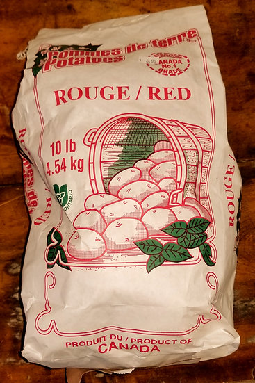 Potatoes - Red - 10 Lbs