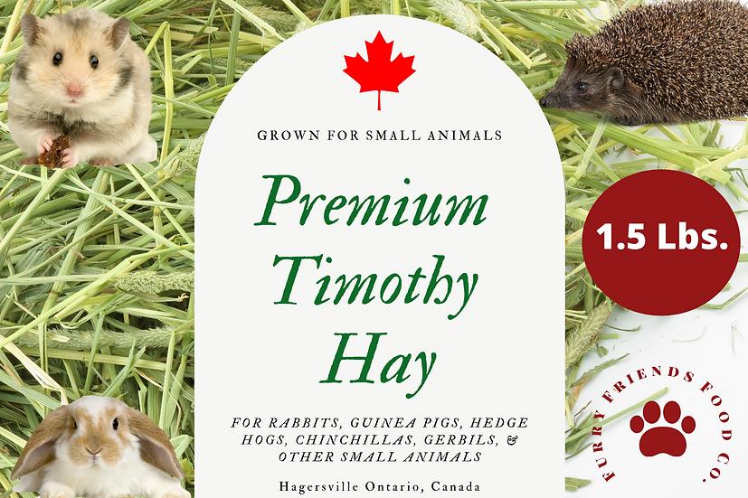 Timothy Hay 1.5 Lbs